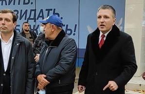 В Одессе обыскивают офис Голубова по подозрению в подкупе избирателей за Скорика