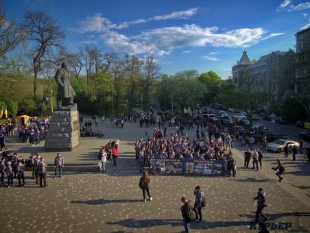 Послезавтра в Одессе отметят день достоинства и свободы