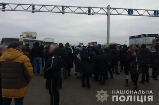 В Одессе предприниматели протестуют против карантина выходного дня и перекрыли Овидиопольскую дорогу