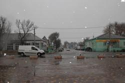 На юге Одесской области выпал первый снег (ФОТО)