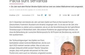 """Издание """"Wiener Zeitung"""" опубликовало лживую статью в интересах российской пропаганды"""
