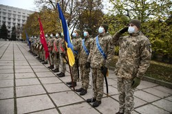 В Одессе отметили день Вооруженных сил Украины