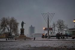 Первый день настоящей зимы в Одессе (ФОТО)