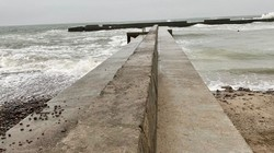 В Одессе отремонтировали пирс на пляже, который рухнул