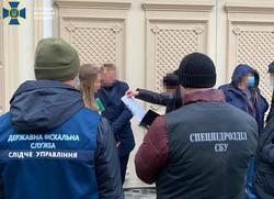 За что обыскивали бывшего председателя Одесского облсовета