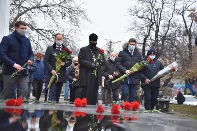В Одессе почтили память ликвидаторов ядерной аварии в Чернобыле