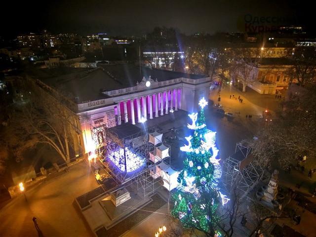 Как в Одессе отметят Новый год
