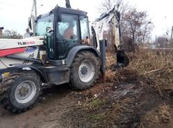 В Одессе снова чистят Румынский канал