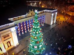 Красивая новогодняя Одесса: как выглядит город с высоты (ФОТО, ВИДЕО)