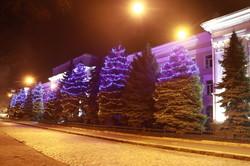 В Одессе появилась необычная подстветка здания СБУ (ФОТО)