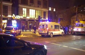 В Одессе автомобилист напал на водителя трамвая