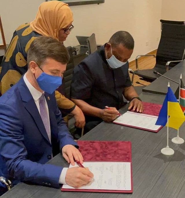 Одесса заключила партнерский договор с Момбасой