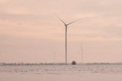 В селе Староказачье готовят к запуску мощную ветровую электростанцию