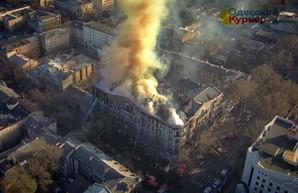 В Одессе судят обвиняемых в смертельном пожаре колледжа на Троицкой