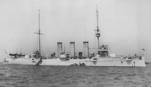 Шведская страница истории: как в Одессу заходил самый маленький броненосный крейсер в мире
