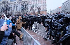 Протесты в России: адепты Навального и хозяева Навального на одной транзитной арене