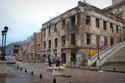 Ужасы современной Одессы: руины Деволановского спуска (ФОТО, ВИДЕО)