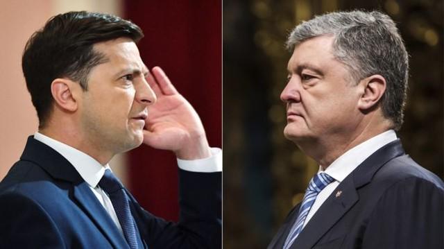 Рейтинги нынешнего и предыдущего президентов Украины почти сравнялись