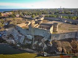 Средневековую крепость в Белгороде-Днестровском снова обещают реставрировать за счет государства (ФОТО, ВИДЕО)