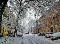 Снежный шторм накрыл Одессу (ФОТО, ВИДЕО)