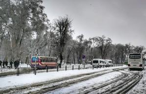 В Одессе закрыто междугороднее автобусное сообщение