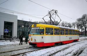 Непогода ограничила работу трамваев и троллейбусов в Одессе