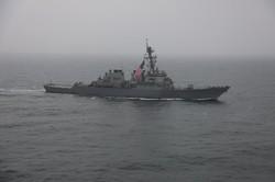 Украинский флот провел учения с ракетными эсминцами ВМФ США (ФОТО)