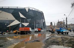 Перекрытая улица Водопроводная в Одессе стала причиной пробок (ФОТО, ВИДЕО)