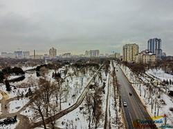 Зимняя сказка в одесском парке Победы (ФОТО, ВИДЕО)
