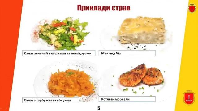 Ученики младших классов в Одессе будут завтракать по новому