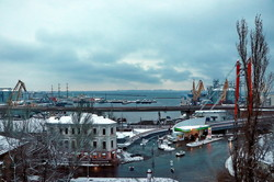 В Одессе был очередной снегопад (ФОТО, ВИДЕО)