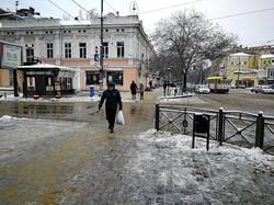 Одессу сковал гололед (ФОТО, ВИДЕО)
