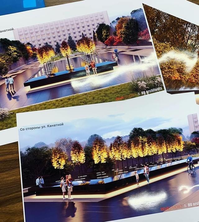 В Одессе показали, как будет выглядеть мемориал погибшим воинам АТО