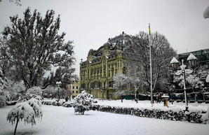На Одессу снова надвигаются морозы и снегопады: школьники могут остаться дома