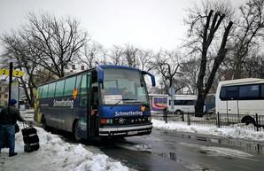 Автотрассу Одесса - Киев уже перекрыли