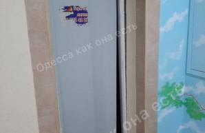 В Одессе падал лифт в жилом доме