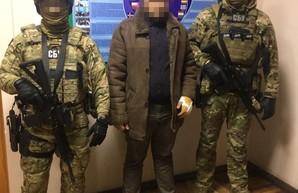 В Одесской области задержали командира одной из частей луганских террористов (ВИДЕО)