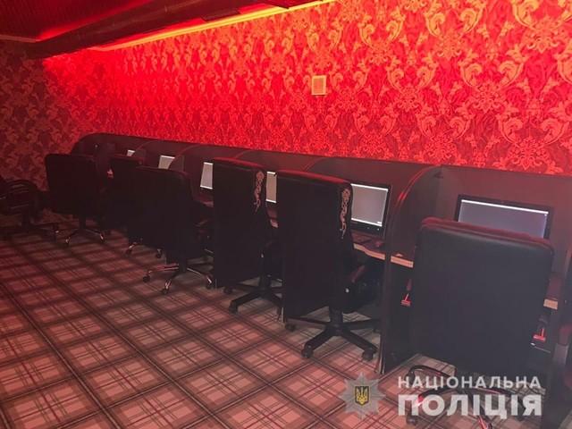 Полиция нашла в Одессе четыре подпольных онлайн-казино