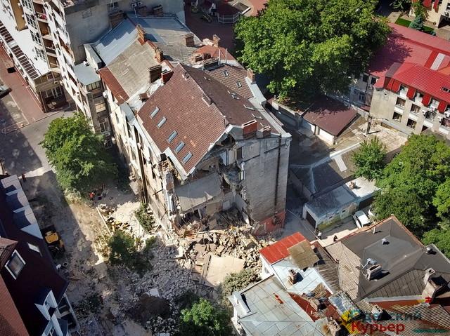 В Одессе нашли шесть старых домов, которые могут рухнуть