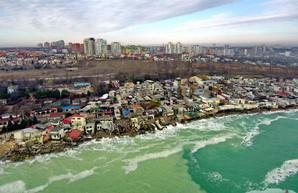 В Черноморске снова обострилась угроза оползней (ВИДЕО)