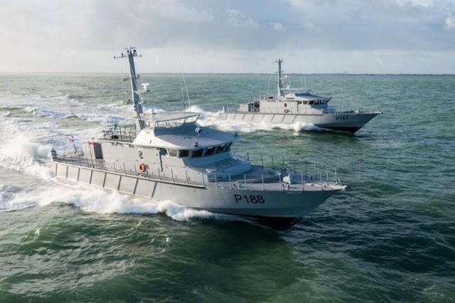Для морской охраны Украины уже строится первый катер французского проекта