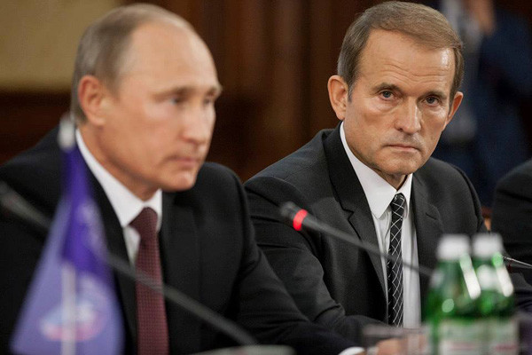 На Медведчука наложены санкции