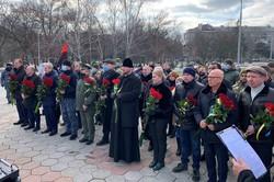 В Одессе почтили память героев Небесной Сотни - без председателя облсовета и мэра