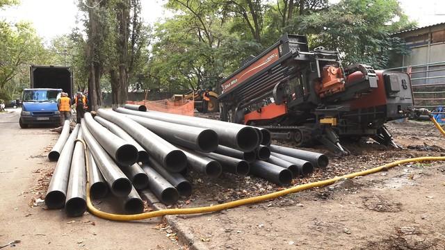 В Одессе за прошлый год заново проложили более 16 километров водопровода