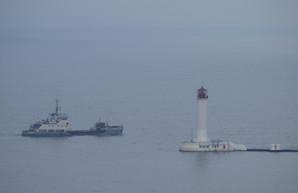 На подходах к порту Одессы начали углубление дна