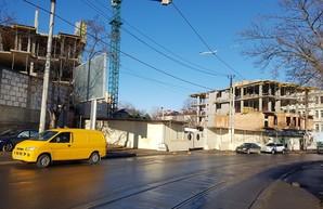 Очередной опасный нахалстрой в Одессе: теперь на Фонтане