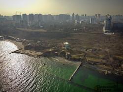 Одесса, которую мы теряем: полет над застроенным высотками побережьем Аркадии и Малого Фонтана (ФОТО, ВИДЕО)