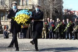 В Одессе почтили память Тараса Шевченко (ФОТО)