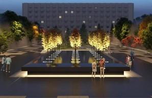 Как будет выглядеть сквер памяти Небесной Сотни в Одессе (ФОТО)