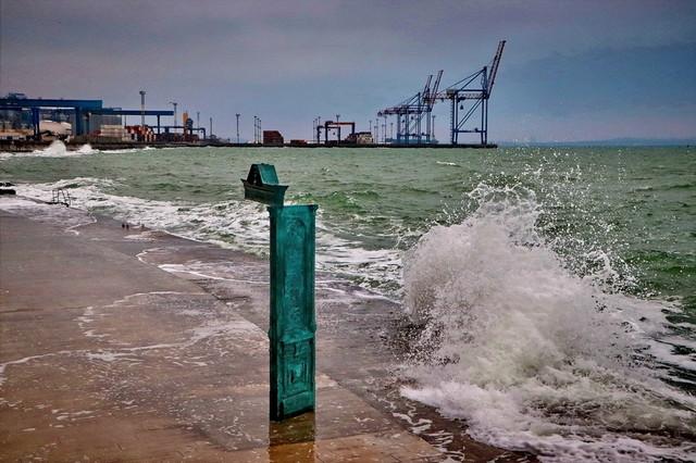 В Одесской области штормовое предупреждение